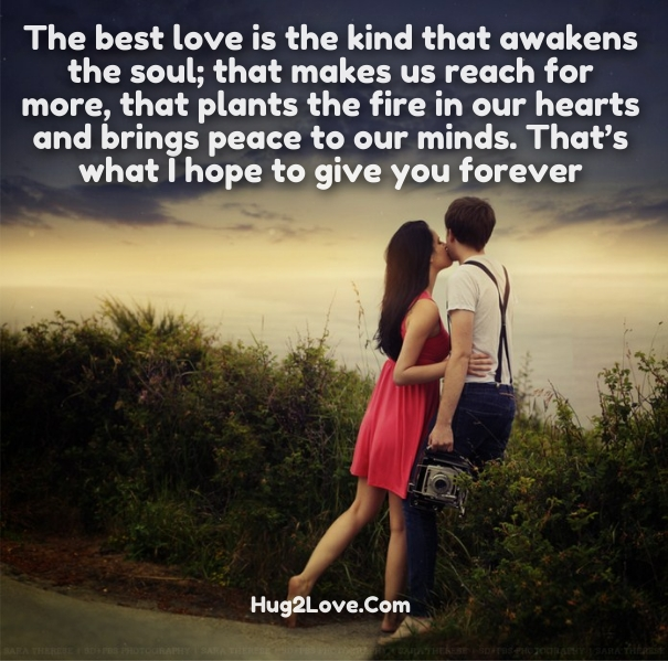 special love quotes for her with images hug2love
