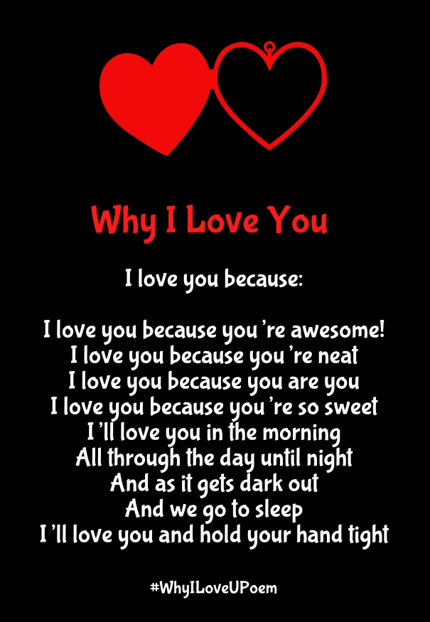 I Love You Quotes And Poems : Also See: Why I Love You Poems to Make her your Girlfriend