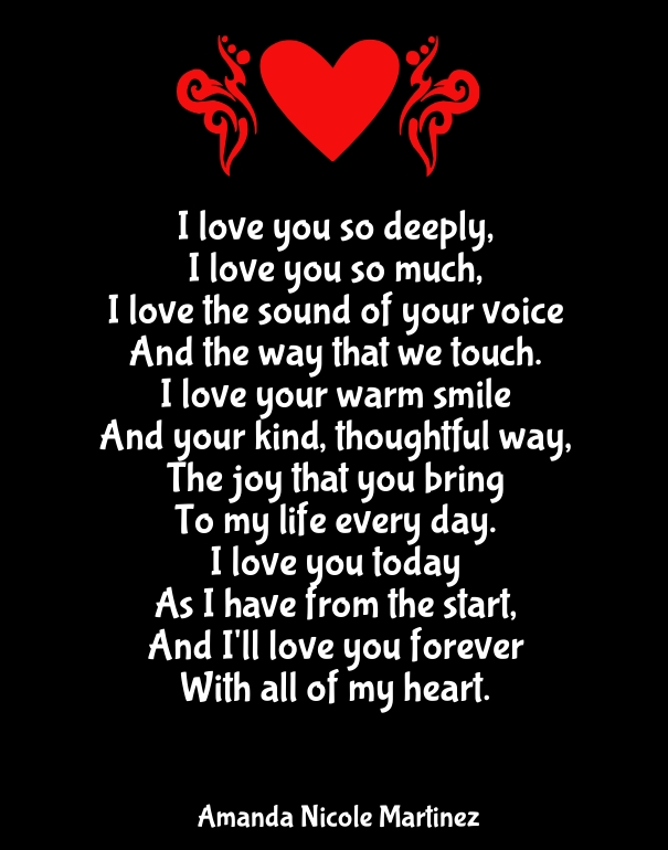 Why I Love You Poems Pictures to Pin on Pinterest - PinsDaddy