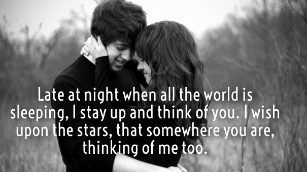 Love Quotes For Him Thinking Of You : Thinking of You Love Quotes for Him