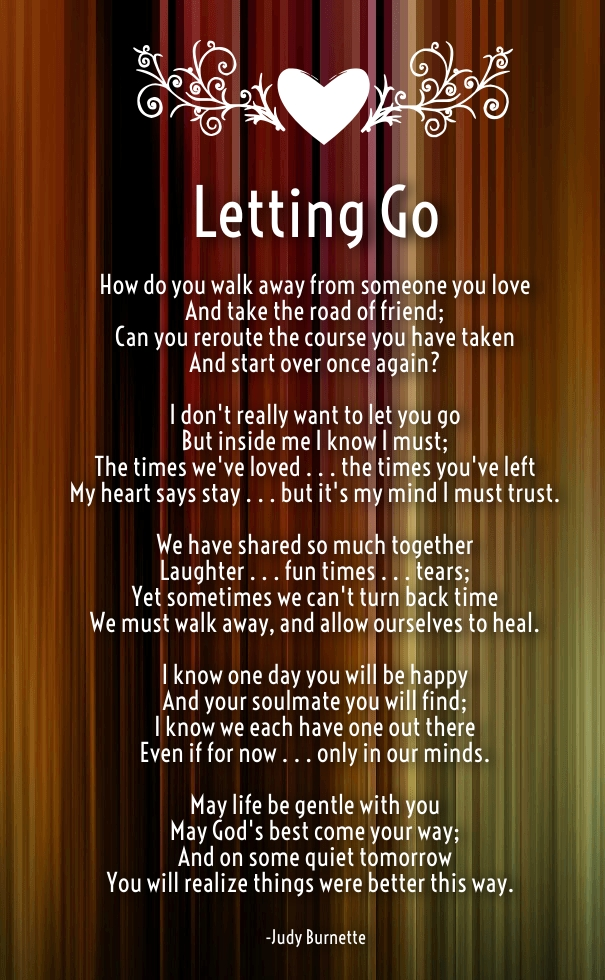 letting go of someone you love poems and quotes hug2love