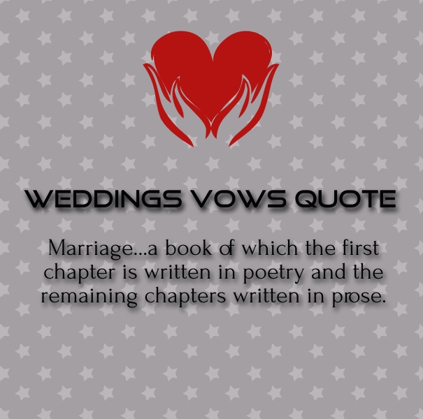 christian wedding vows and poem
