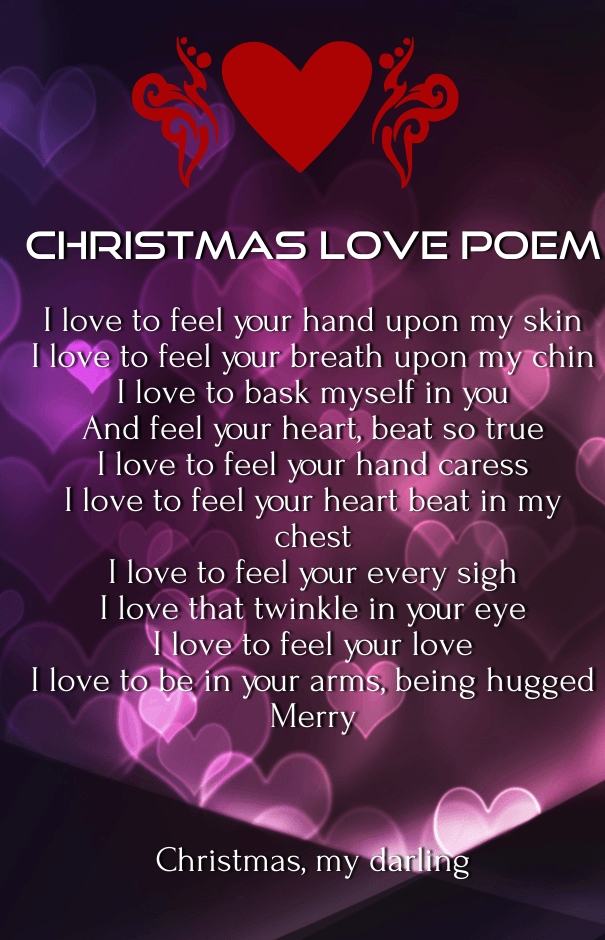 Xmas Love Quotes For Him : Christmas Love Quotes Him Merry christmas 2016 love poems for him and ...