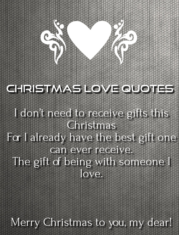 Love Quotes For Him Christmas : christmas love quotes and sayings 2015-16