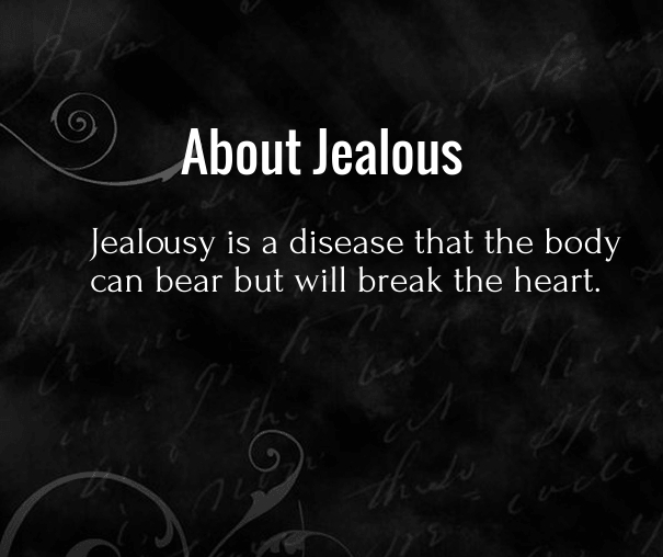 JEALOUS LOVE Quotes Like Success