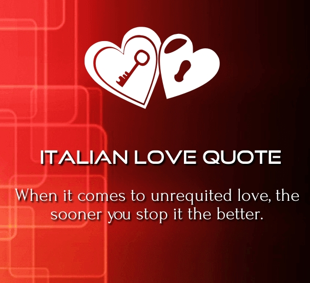 Quotes About Love Relationships: 10 Best Italian Love Quotes, Poems And Phrases