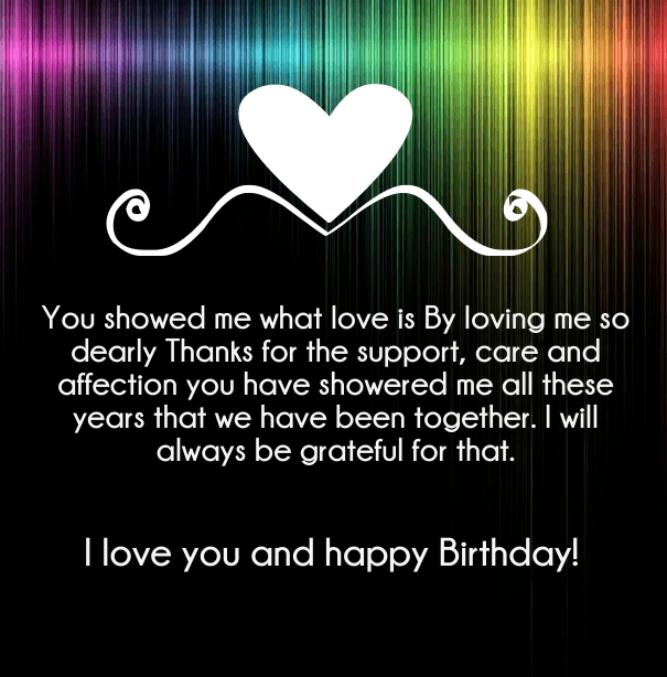 gallery for happy birthday love you poems