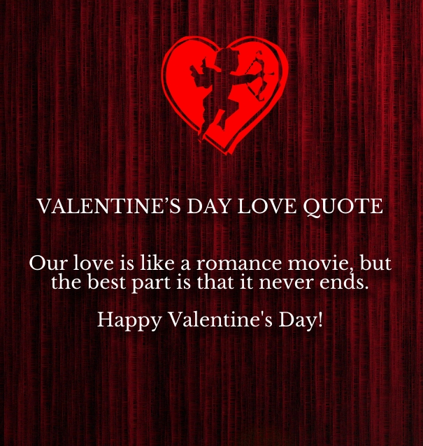 I Love You Quotes Valentines Day : happy valentines day i love you quotes for her