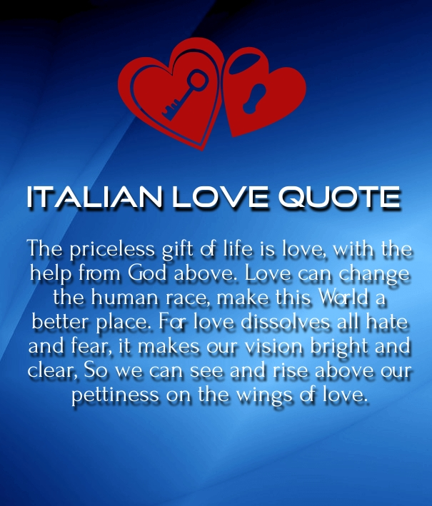 italian love quotes for him and her