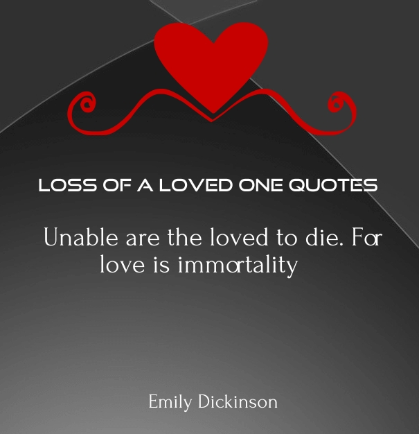 love Quotes for Lost Loved Ones