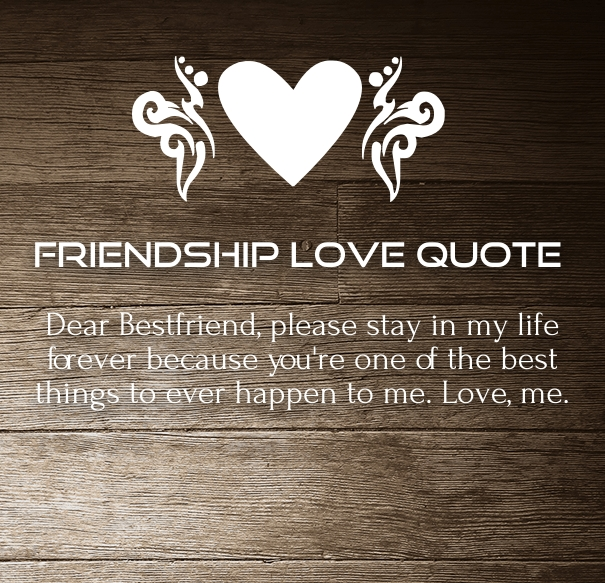 Friendship Quotes And Love Quotes : Friendship Love Quotes and Sayings for Him / Her with Images ...