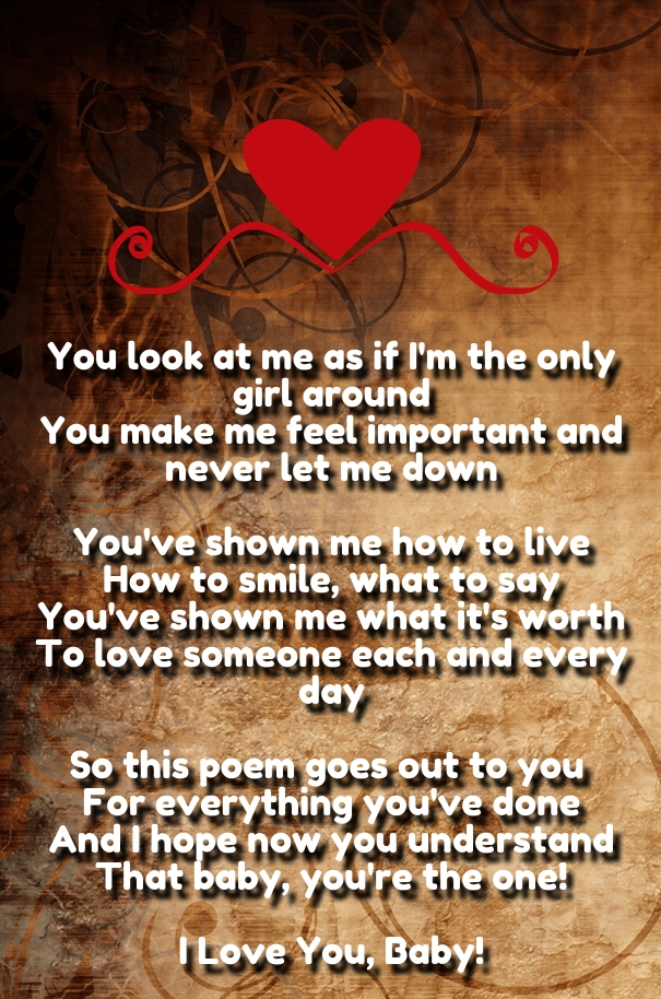 My Love Poems for Him With Pictures - Hug2Love