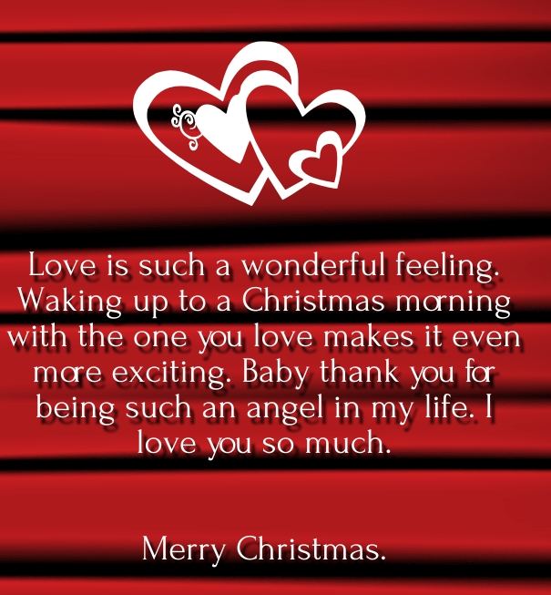 Quotes About Xmas Love : Christmas Wishes and messages for Him Greeting Cards Sayings