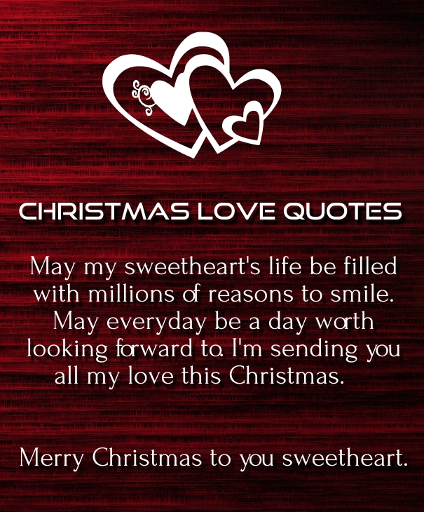 Quotes About Xmas Love : Merry Christmas Quotes for Husband and boyfriend with Images