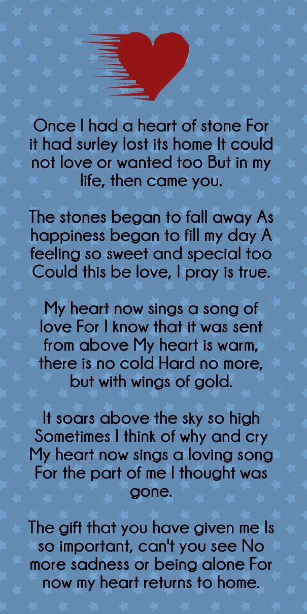 emotionally express love poems quotes for him and her