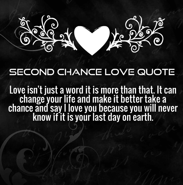 Funny Quotes On Second Love : ... - Second Chance Quotes About Relationships Http Kootation Com Second