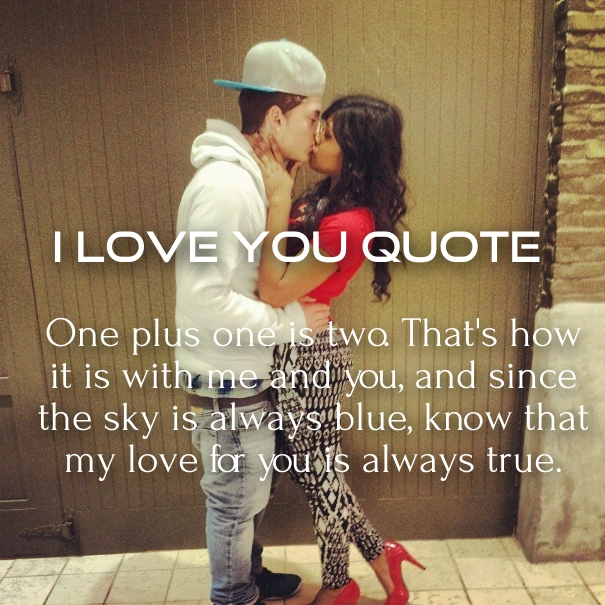 Simple I Love You Quotes That Are Cute And Short With Pictures   Hug2Love