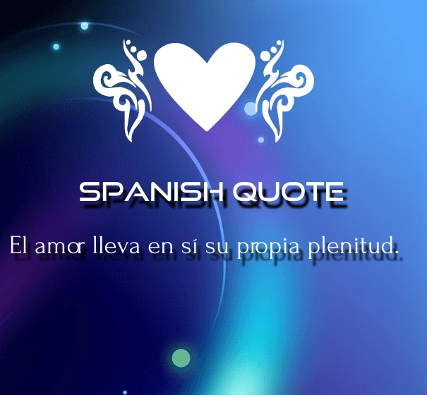 spanish love quotes for her