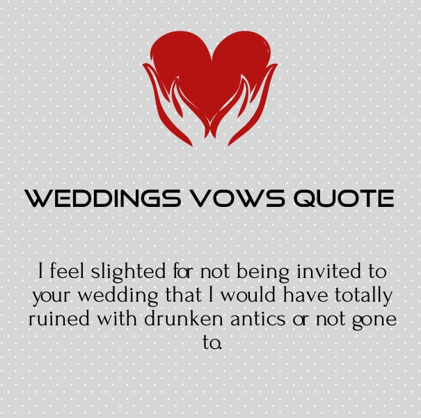 Wedding Vows Quotes And Poems For Speeches