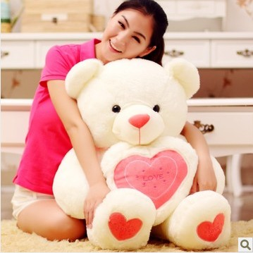 big valentine teddy bear