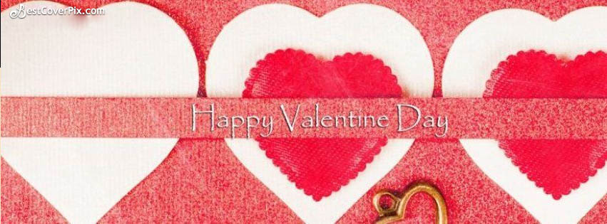Cute Valentines Day Cover Header Banner