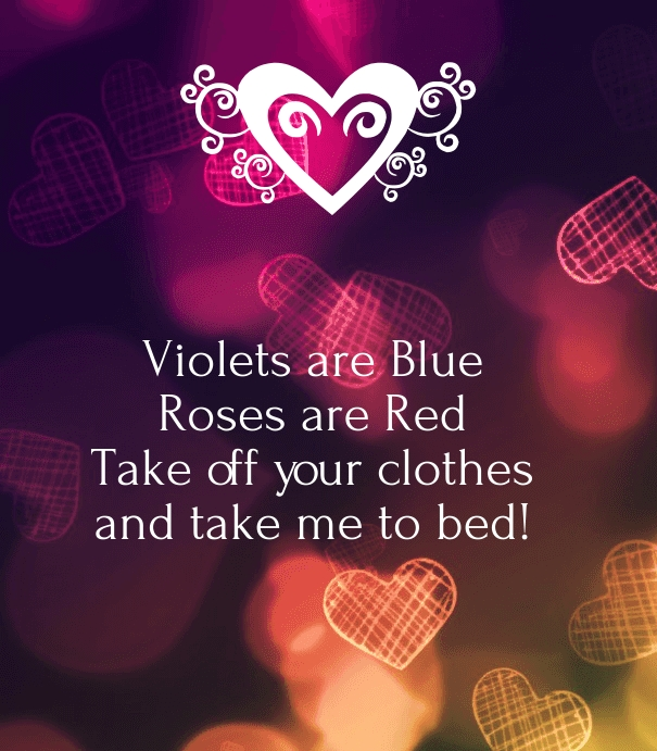 Naughty Love Quotes For Him Images : Dirty Poems For Him dirty valentines day quotes for naughty couples ...