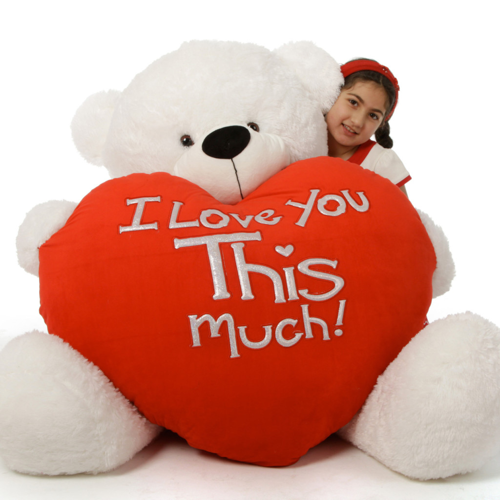 Valentines Day Giant Teddy Bears  Big Plush