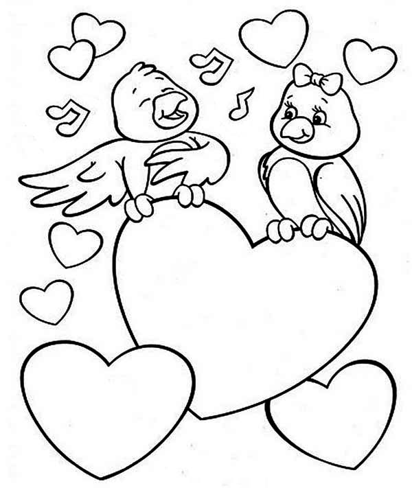Best Valentine Day Coloring Printables Hug Love