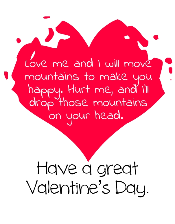Happy valentine s day quotes for him with images hug2love for Quotes on valentine day