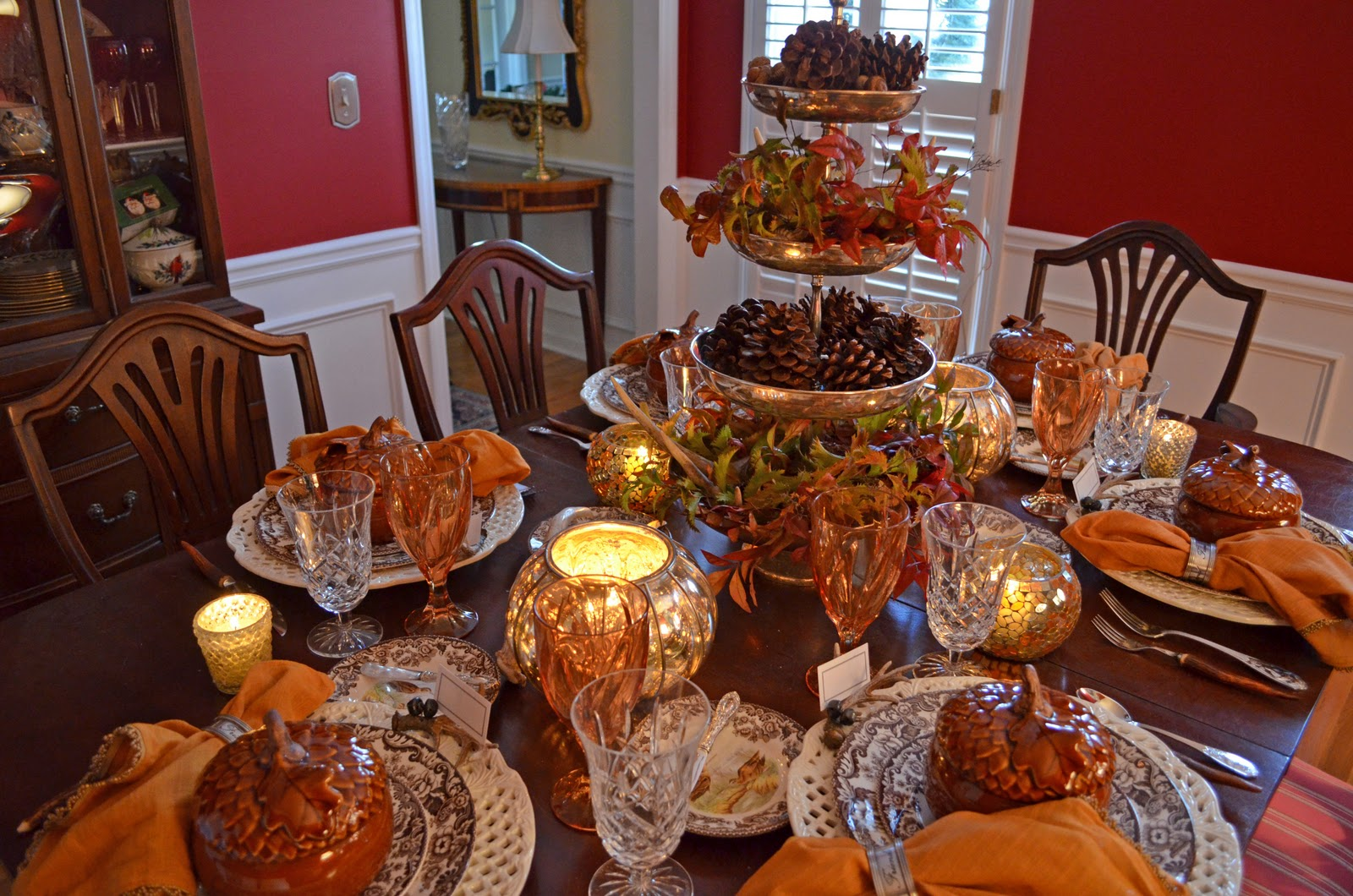 Cute thanksgiving table decoration ideas hug love