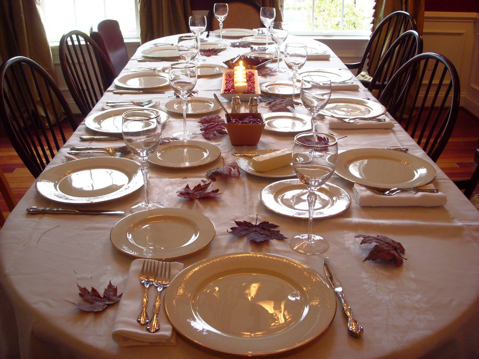 thanksgiving party decorations
