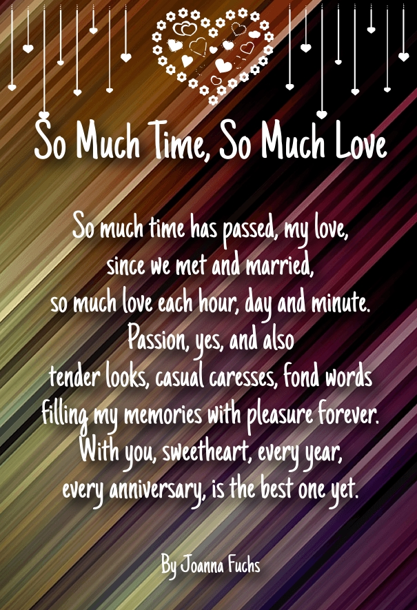 Love poems from wife to husband