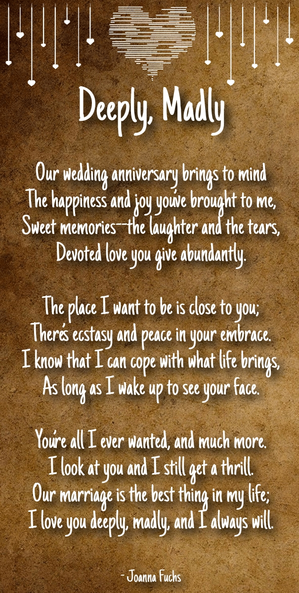 anniversary poems for boyfriend
