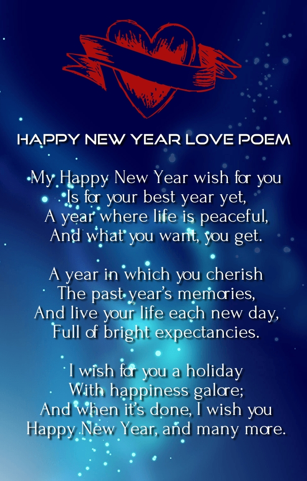 Happy New Year 2016 Love Poems