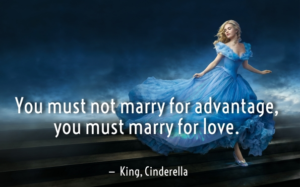 cinderella quotes about love