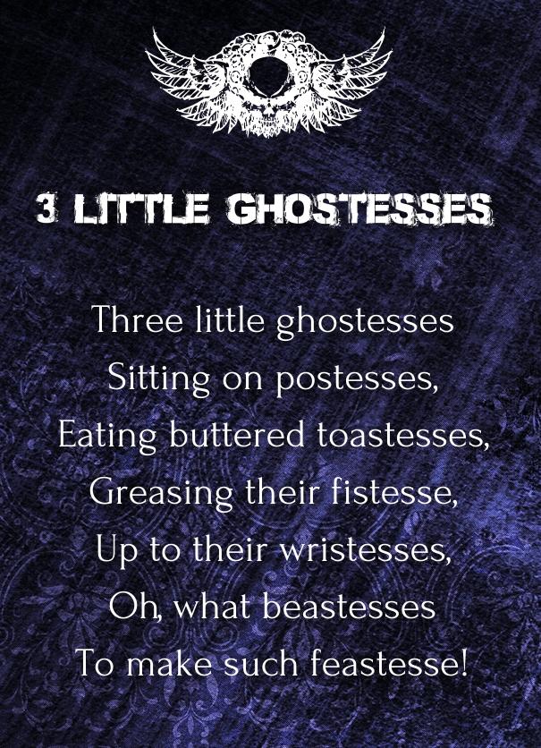 halloween poems that rhyme