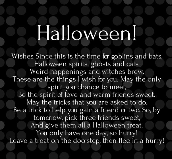 Halloween Quotes For Kids.Cute Halloween 2019 Love Poems With Images Hug2love