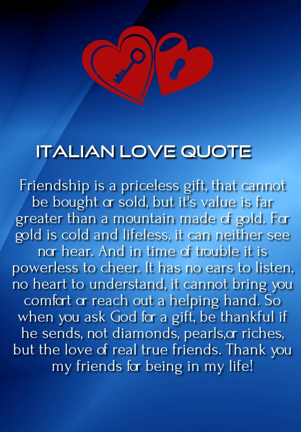 love quotes in italian