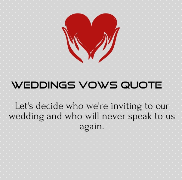 non traditional wedding vows and quotes