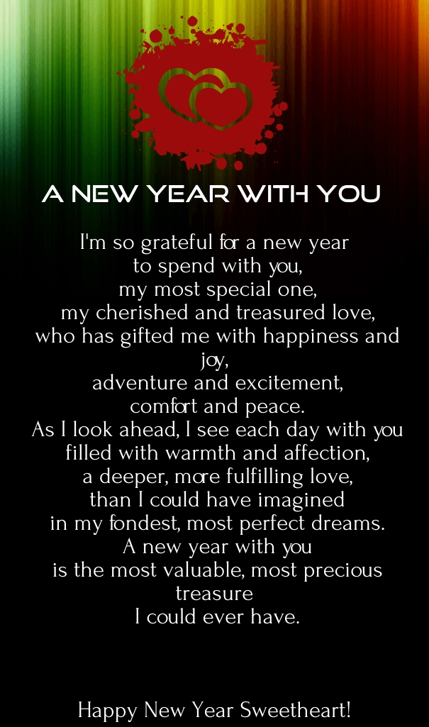 poem for the new year 2016