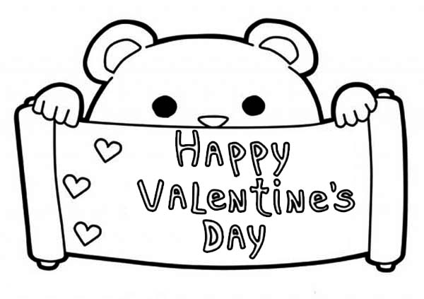 Best Valentine S Day Coloring Pictures Printables Hug2love