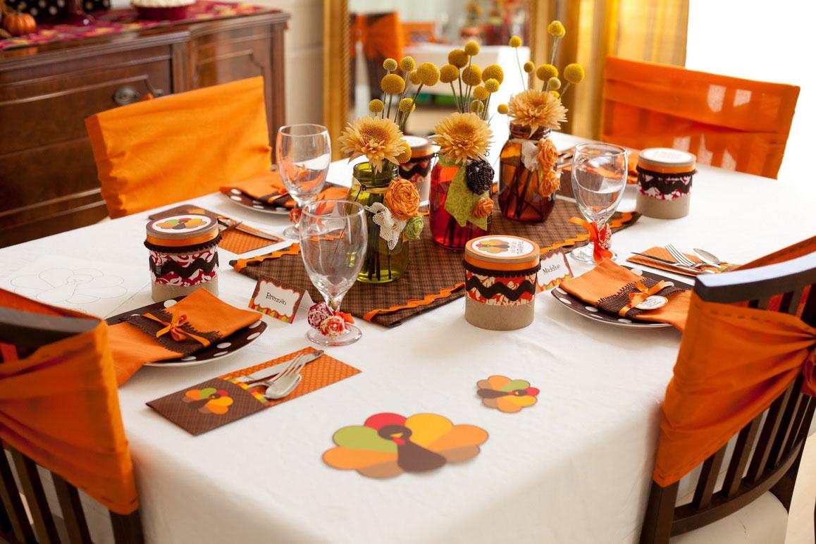 homemade thanksgiving centerpiece ideas