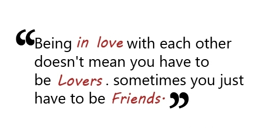 Friendship Love Quotes Image Free