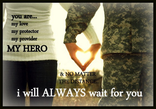 Military Love Quotes For Him Army Relationship Sayings Hug2love