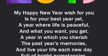 New Year 2019 Poem Romantic