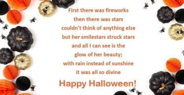 Short Halloween Poem For Her Beauty