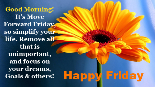 Happy Friday My Love Quotes Pic