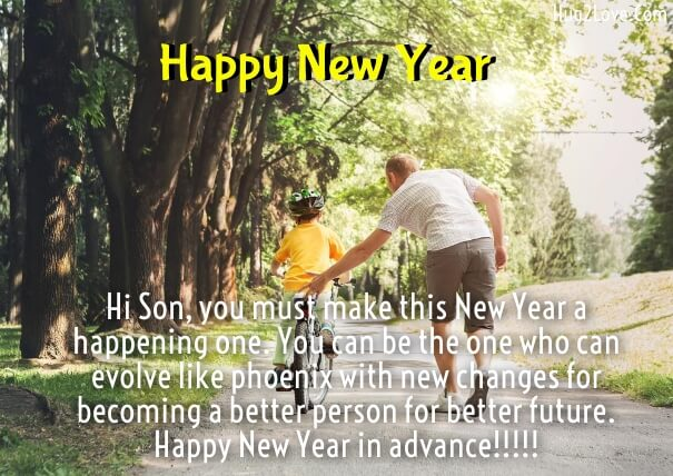 Best Happy New Year 2019 Quotes For Son