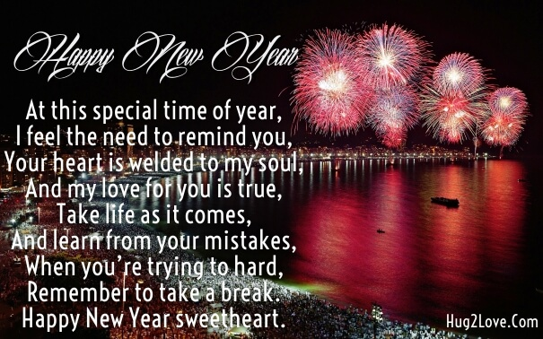 Cute Messages New Year Wishes Quotes