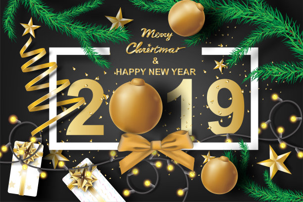 Happy New Year 2019 Merry Christmas Image Hd